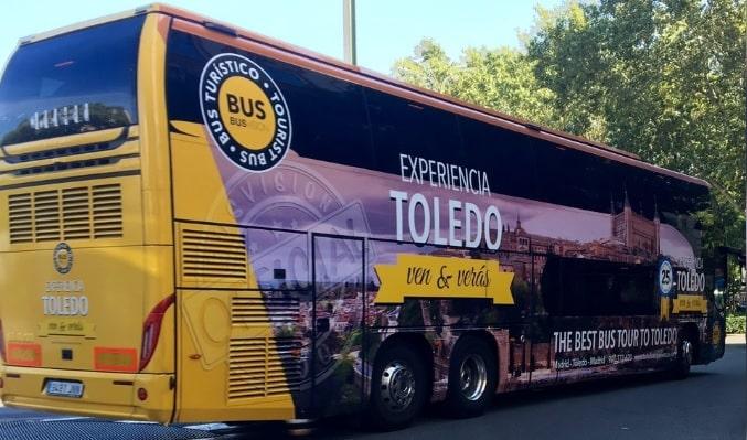 Excursiones en buses de Madrid a Toledo
