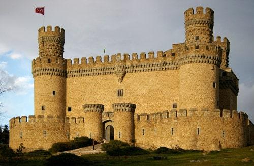 tour al castillo manzanares el real