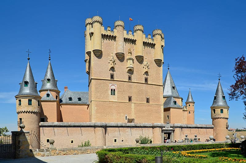 excursion al alcazar de segovia