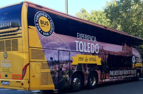 Bus para grupos a Toledo