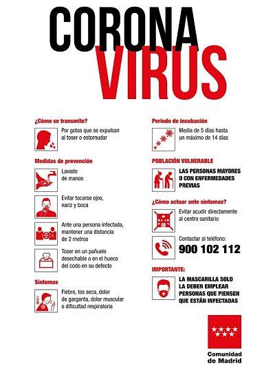 Viajes a madrid durante el coronavirus